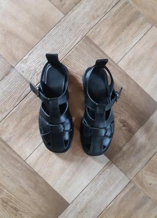 Мега модные сандалии сезона, натуральная  мягкая кожа с 36-41р4 фото