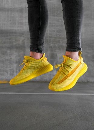 Женские кроссовки ad!das bo*st 350 v2 yellow#адидас