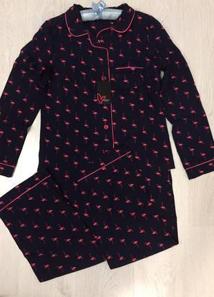 Пижама женская,комплект рубашка и штаны