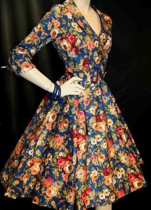 Распродажа винтажное платье lindy bop из натуральной ткани с asos