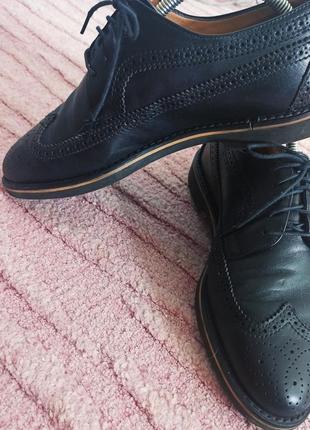 Чоловічі туфлі navy boot