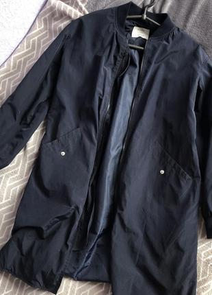Куртка бомбер beshka удлиненная xs-s