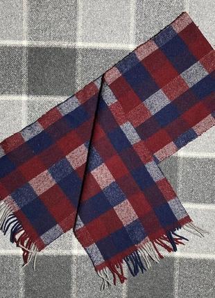 Мужской шарф в клетку (оригинал разноцветный)