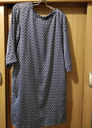 Женское легкое платье,разм