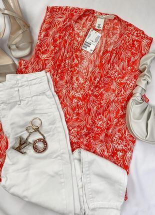 Женская блуза без рукавов h&m