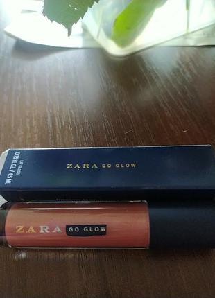 Zara блеск для губ