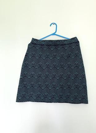 Юбка трикотаж яркая мягкая юбочка
