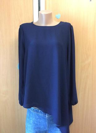 Блуза ассиметричная размер 16