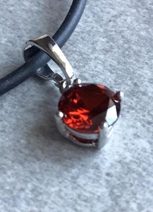 Ювелирная бижутерия xuping jewelry, подвеска с фианитами на шнурке