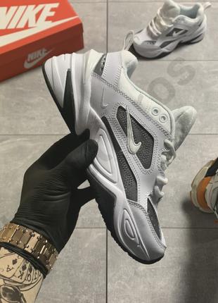 Nike m2k tekno essential white silver