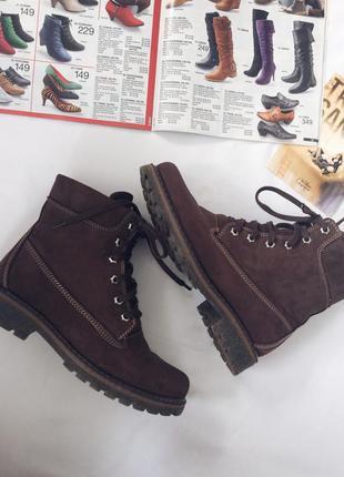 Ботинки кожаные,сапожки кожаные,сапожки в стиле тимберленд,timbarland