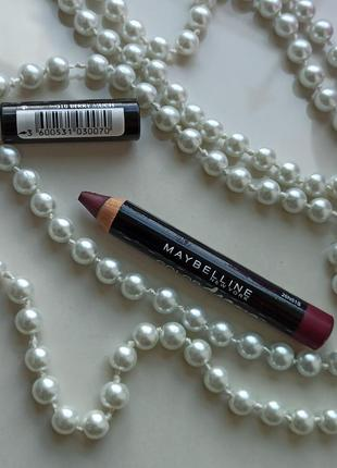 Помадa-карандаш для губ color drama от американского брендаmaybelline