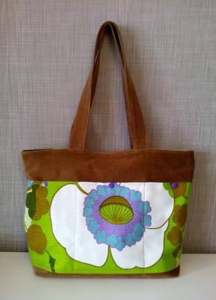 Стильная вельветовая сумка на молнии! европейские ткани! распродажа!
