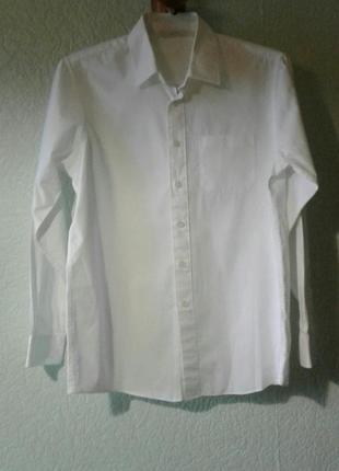 Коттоновая рубашка 12-13 лет