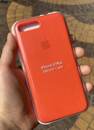 Чехол apple silicone case для iphone 7 8 plus