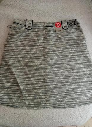 Новая миди юбка tu, размер 14. майка в подарок.