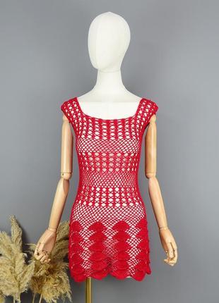 Платье пляжное  hand made