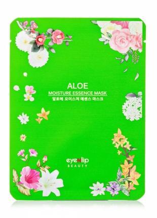 Тканевая маска для лица eyenlip moisture essence mask aloe увлажняющая, 25 мл