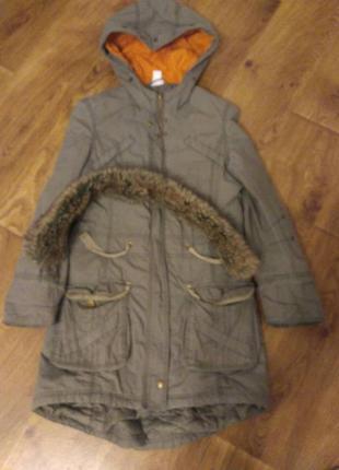 Куртка - парка демисезонная2