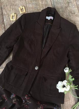 Льняной легкий пиджак next s-m