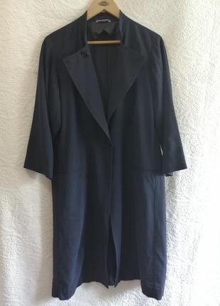 Кардиган, летнее пальто из шерсти и вискозы от бренда max mara (оригинал)