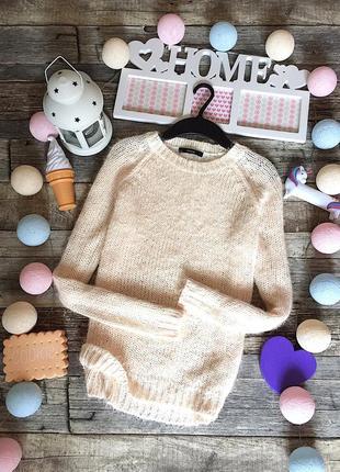 Очень мягкий, тепленький свитер травка george