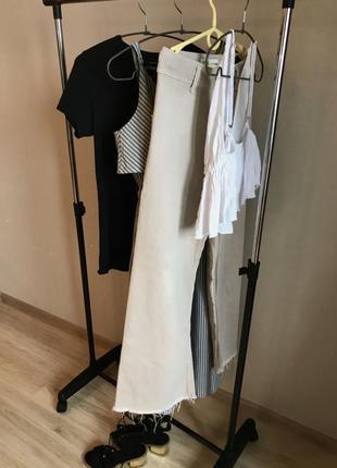 Набор лот женских вещей топ штаны футболка платье босоножки