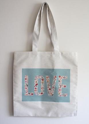 Еко сумка love