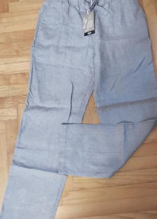 Шикарные брюки mango. лен