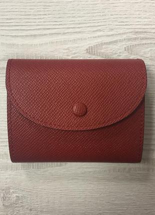 Маленький кошелёк из фафьяновой кожи virginia conti