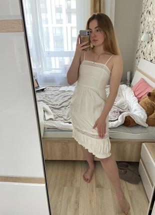 Платье летнее, хлопок