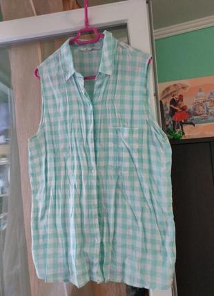 Рубашка безрукавка от oodji