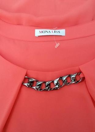 Стильная шифоновая блузка mona lisa