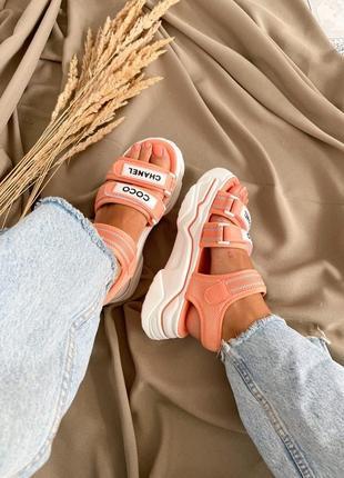 Босоножки t shoes orange