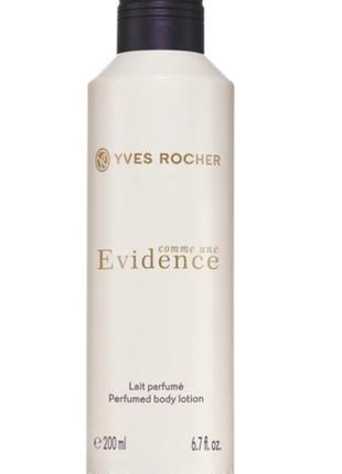 Yves roche, парфумированный молочко  evidence 200ml