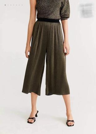 Кюлоты брюки-юбка тм «mango» р.38/s-м/44-46