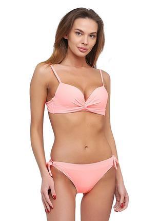 Женский раздельный купальник коралового цвета atlantic beach 32488