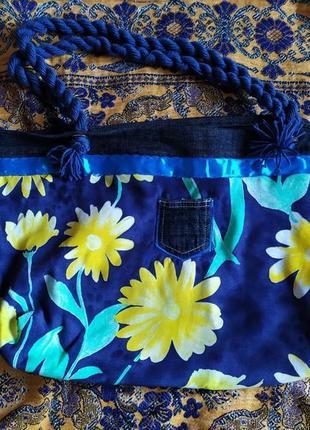 Сумка летняя, пляжная сумка