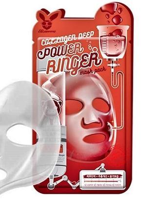 Коллагеновая маска elizavecca collagen deep power mask pack, корея