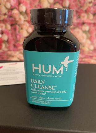 Капсулы hum nutrition daily cleanse clear skin and body detox supplement