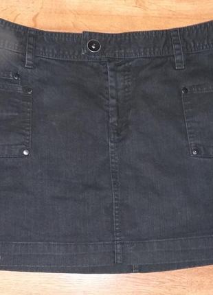 Юбка джинсовая h&m