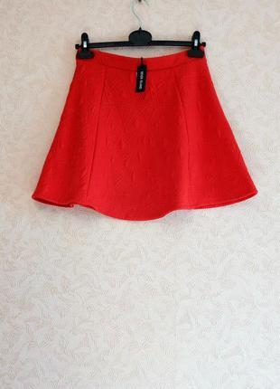 Красная юбка river island