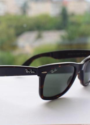 Солнцезащитные очки, окуляри ray-ban 2140 902.5 фото