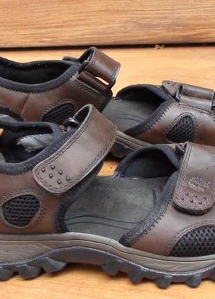 Timberland - кожаные босоножки, сандали