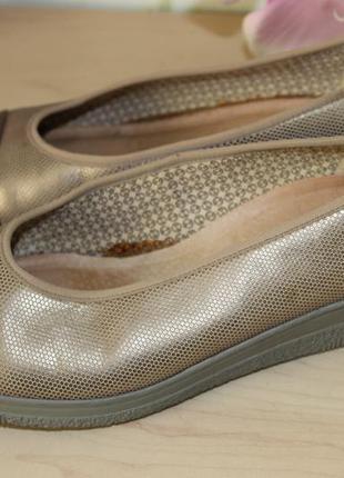 Супер туфельки,кожаные