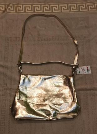 Новая женская сумка из натуральной кожи производство италия