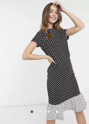 Стильна сукня з сайту asos! трендова модель в горох!