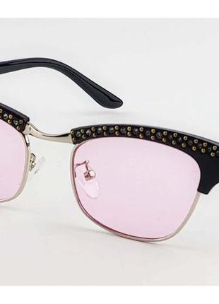 Очки солнцезащитные розовые/последняя модель 💕