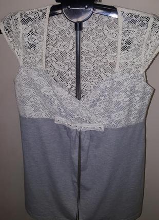 Блузка трикотаж 38-40