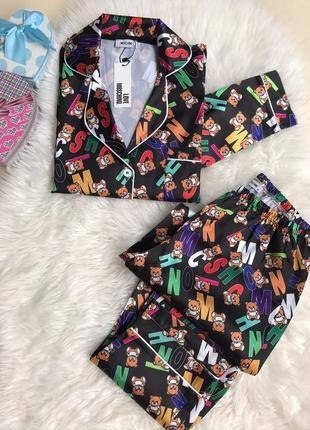 Бомбезная стильная пижама с штанами, люкс качество, размер хл.